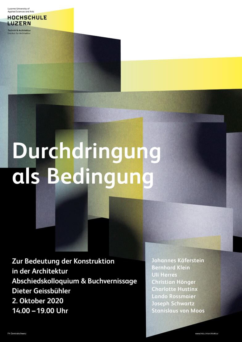 Durchdringung als Bedingung – Dieter Geissbühler