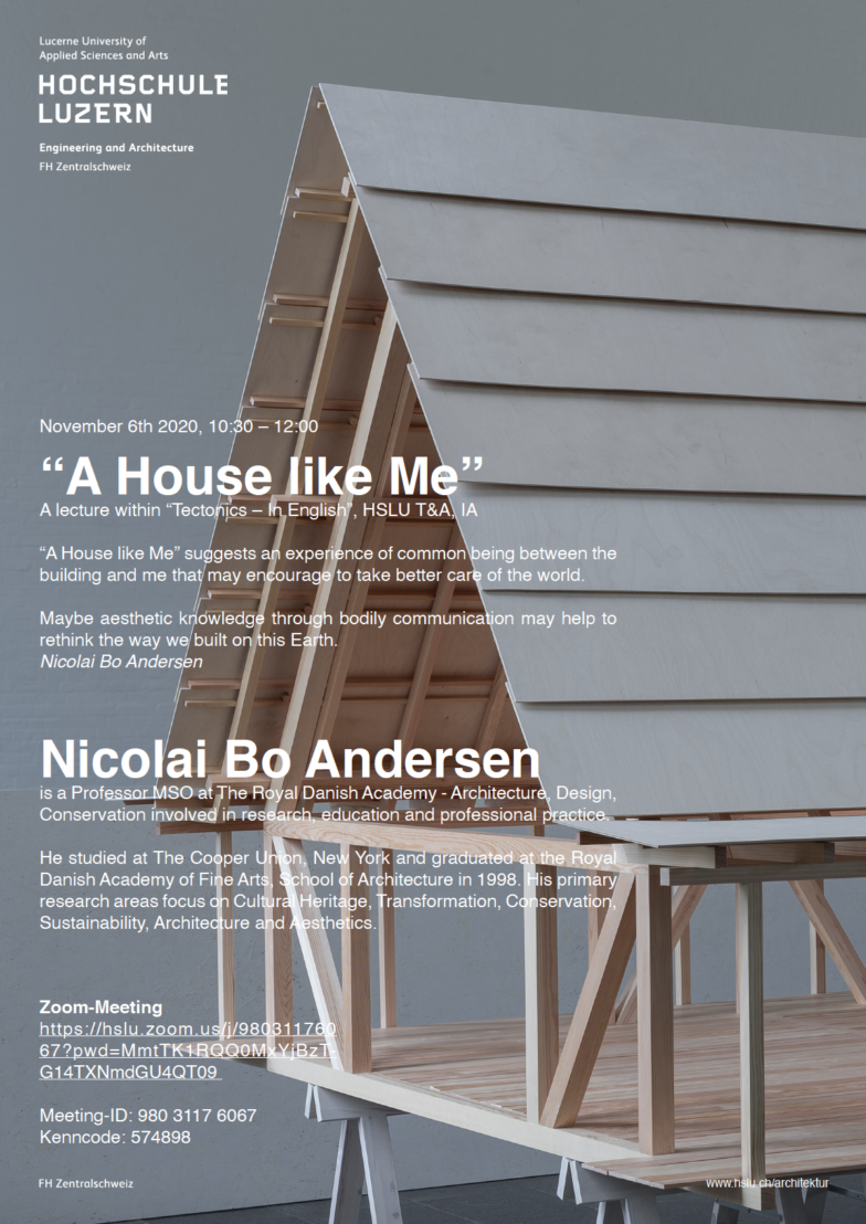 Lecture Nicolai Bo Andersen